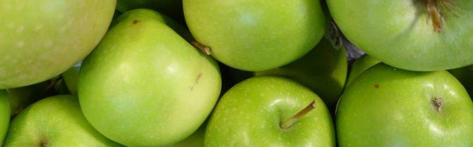 Bild på äpplen, Granny Smith