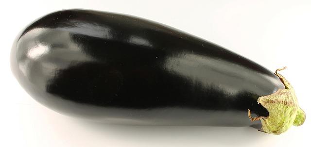 Bild på auberginefrukt