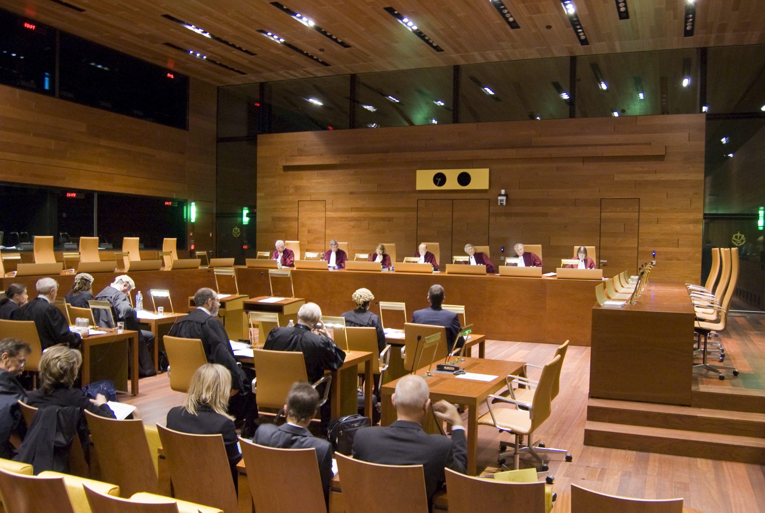 Bild på Europeiska unionens domstol