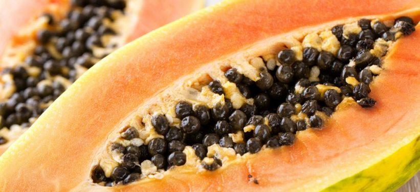 Bild på papaya-frukter.